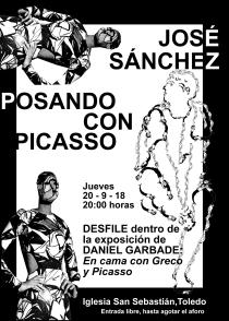 José Sánchez,Desfile,Garbade,Daniuel,Picasso,posando,Moda,Toledo